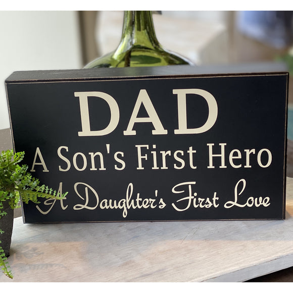 Dad Plaque