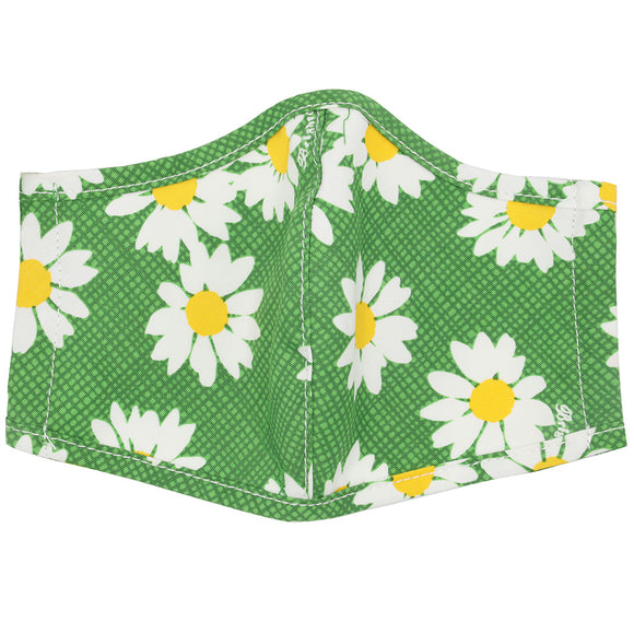 Brighton Dottie Daisy Green Mask
