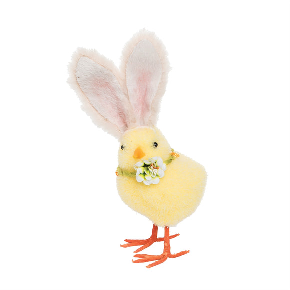 Easter Bunny Chick Figure