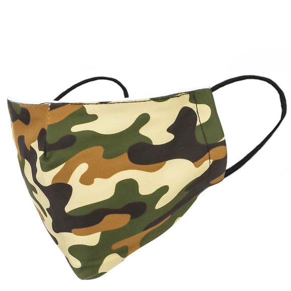 Adult Camo Face Mask