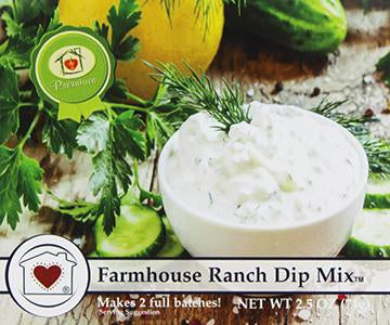 Country Home Creations Farmhouse Ranch Dip Mix