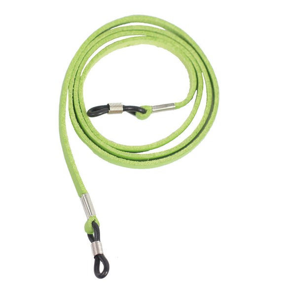 Peepers Faux Leather Cord Green