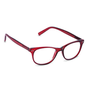 Peepers Finishing Touch Red Glasses