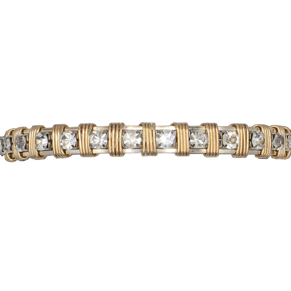 Earth Grace Clear Graceful Girls Collection Bracelet