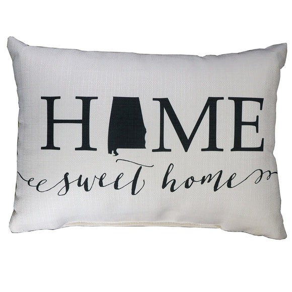 Home Sweet Home Alabama Pillow