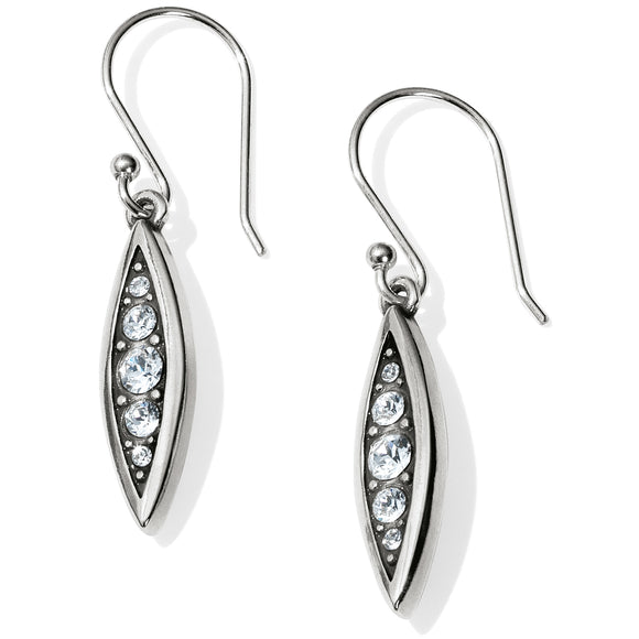 Brighton Contempo Ice Reversible Petite French Wire Earrings