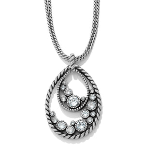 Brighton Halo Convertible Crystal Long Necklace