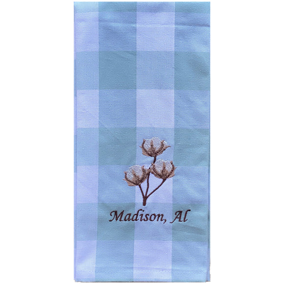 Madison Cotton Boll Dish Towel