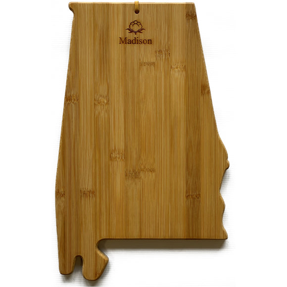 Alabama Cutting Board