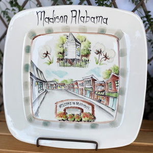 Madison Cityscape Platter