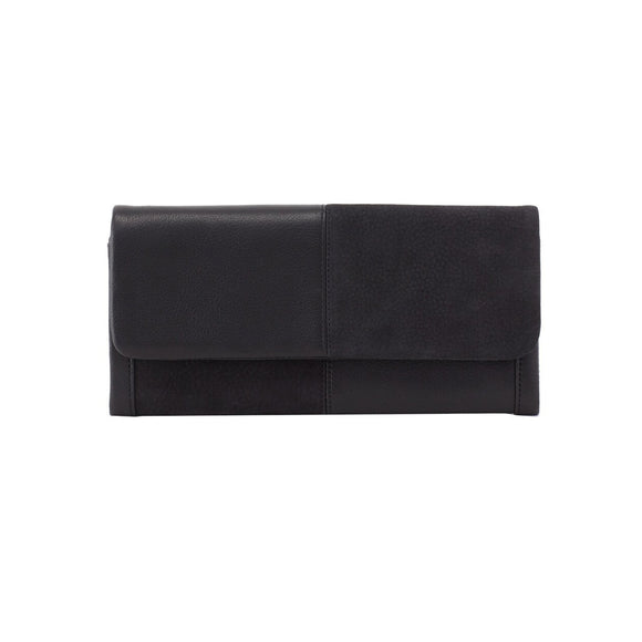 Hobo Wonder Wristlet Wallet-Black NU