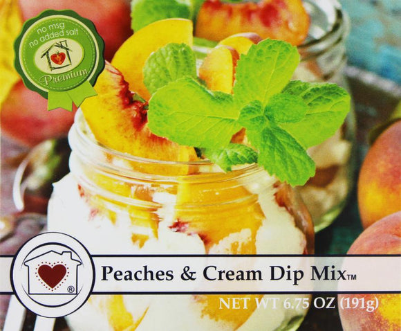 Country Home Creations Peaches & Cream Dip Mix