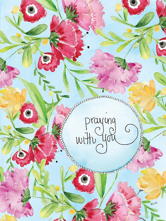 Floral Prayers Card