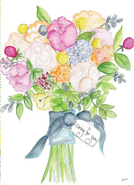 Caring Bouquet Card