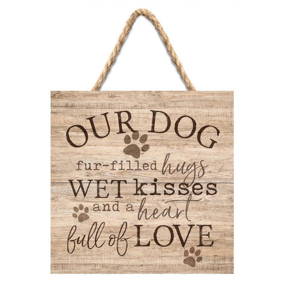 Our Dog Wall Hanging