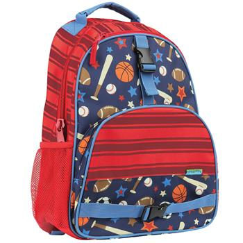 Stephen Joseph Sports All Over Print Backpack