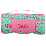 Stephen Joseph Sloth All Over Print Nap Mat With Name