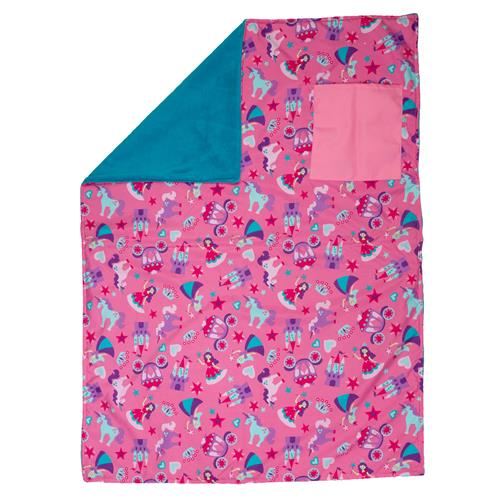 Stephen Joseph All Over Print Blanket - Princess