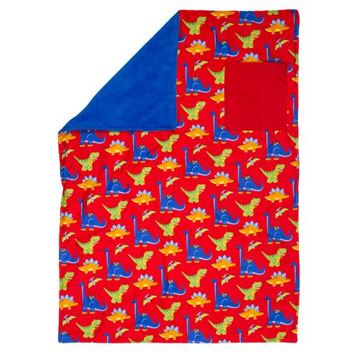 Stephen Joseph Dino All Over Print Blanket