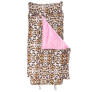 Stephen Joseph All Over Print Nap Mat With Name - Leopard