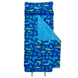 Stephen Joseph Shark All Over Print Nap Mat With Name