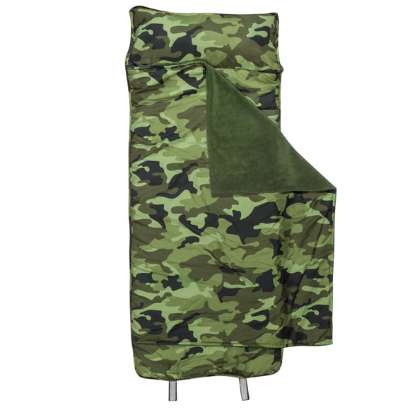 Stephen Joseph Camo All Over Print Nap Mat With Name