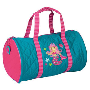 Stephen Joseph Mermaid Quilted Duffle