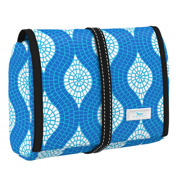 Scout Beauty Burrito Hanging Toiletry Bag - Sweet Tile of Mine
