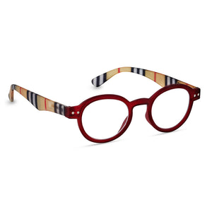 Peepers Style Sixteen Red & Stripe Glasses