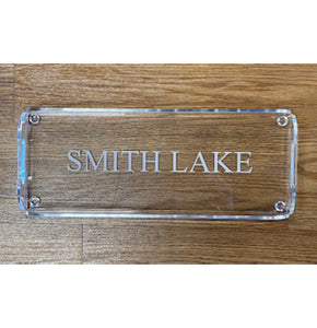 Huang Acrylic Long Rectangular Tray