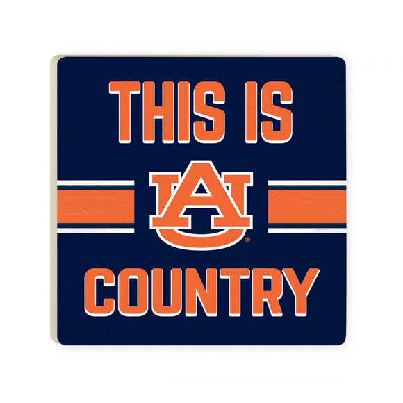 Auburn Tigers This is Country Coaster