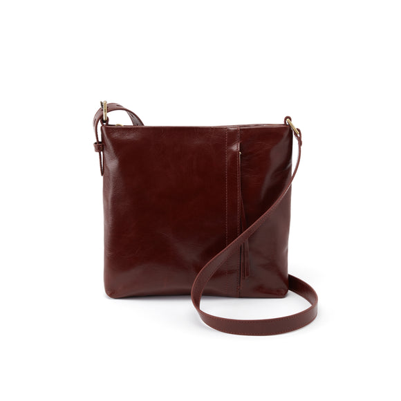 Hobo Drifter Crossbody-Chocolate