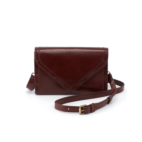 Hobo Fleet Crossbody-Chocolate