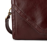 Hobo Fleet Crossbody - Chocolate Vintage Hide