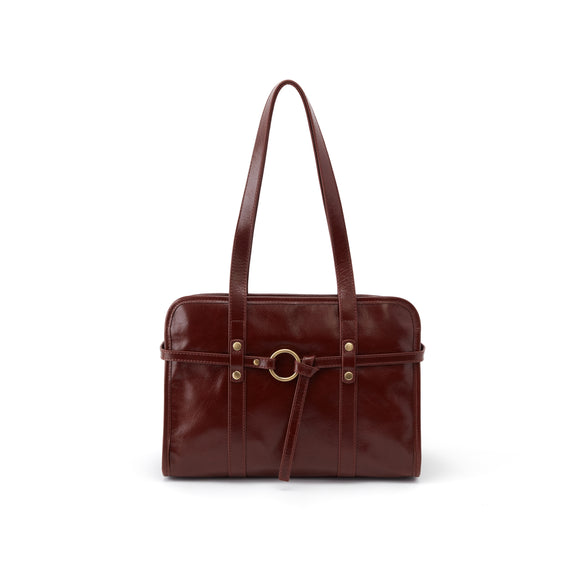 Hobo Avon Satchel - Chocolate Vintage Hide