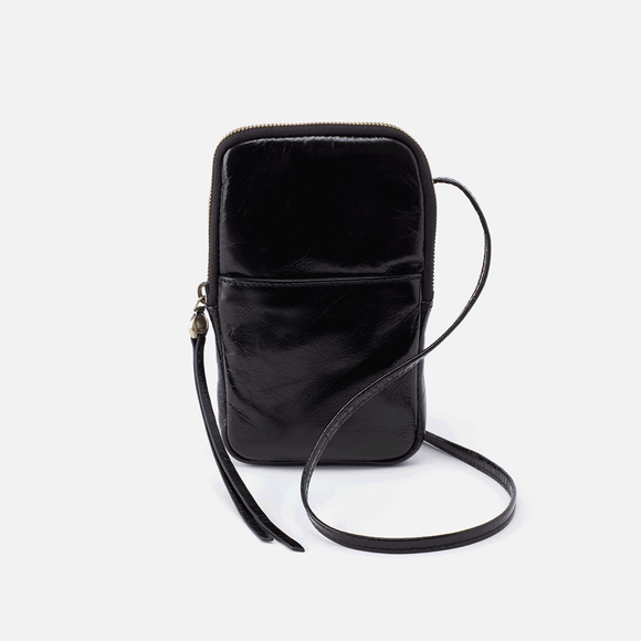 Hobo Fate Crossbody-Black Vintage Hide