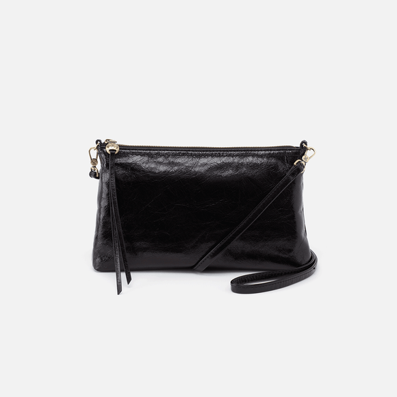 Hobo Darcy Convertible Crossbody Clutch - Black Vintage Hide