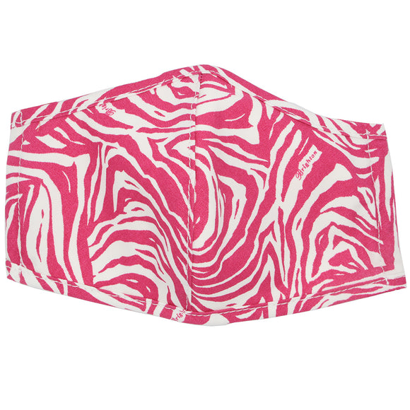 Brighton Z-Stripe Pink/White Mask