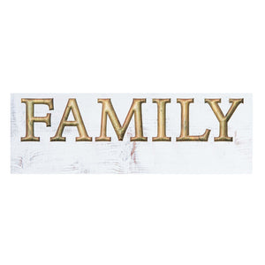 Family Carved Sign w/Personalization