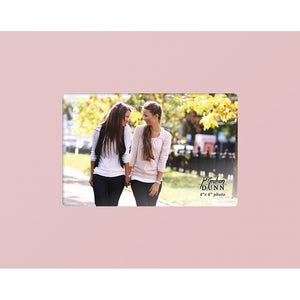 "Photo Frame 4"" x 6"" Pink w/Personalization"