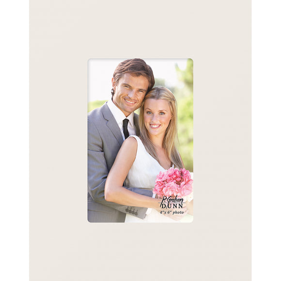 Photo Frame 4 x 6 White