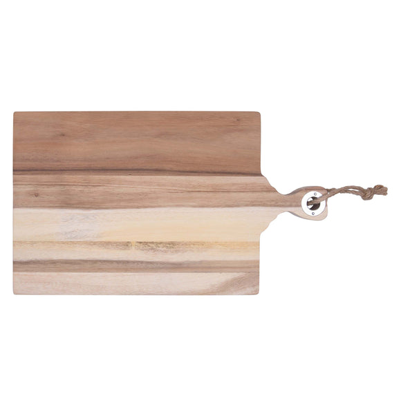 Acacia Cutting Board Large w/Personalization