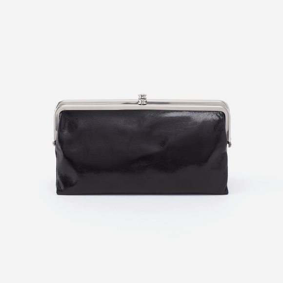 Hobo Lauren Clutch Wallet-Black