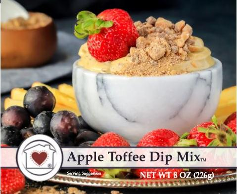 Country Home Creations Apple Toffee Dip Mix