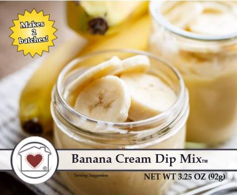 Country Home Creations Banana Cream Dip Mix