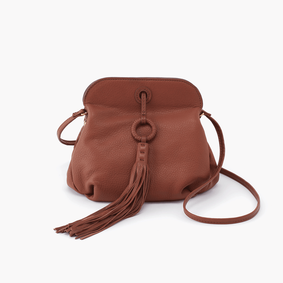 Hobo Birdy Crossbody - Toffee Velvet Hide