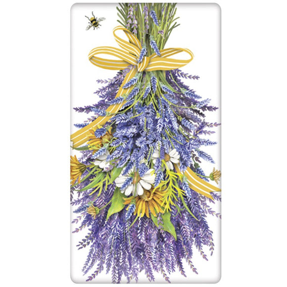 Mary Lake-Thompson Hanging Lavender Bagged Towel