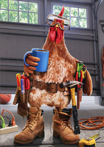 Avanti Press Rooster Mr Fix It Card