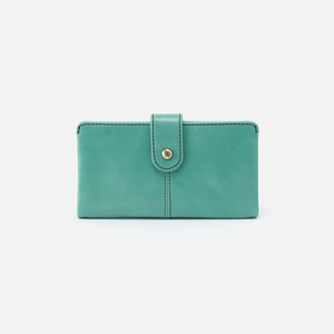 Hobo Marshal Wallet - Seafoam Vintage Hide