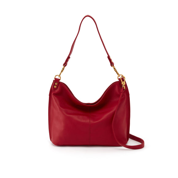 Hobo Pier Crossbody Shoulder-Scarlet